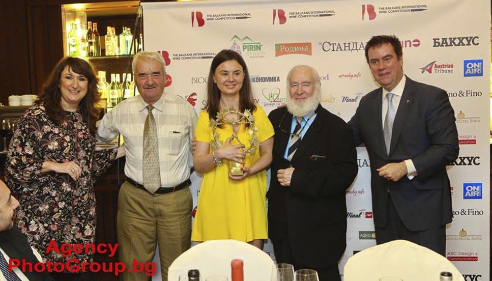 Гранд Трофей за Най-добро вино на Балканите грабна розе Анка - Мария Сира & Каберне Совиньон 2017 на изба Владой, Румъния